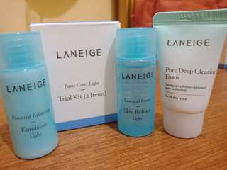 Laneige Basic Care_Light + Pore Deep Clearing Foam