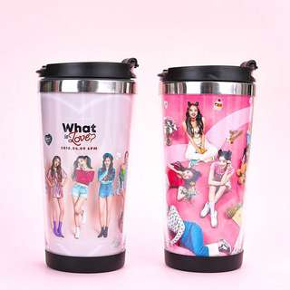"KPOP TWICE ""WHAT IS LOVE"" WATER BOTTLE"