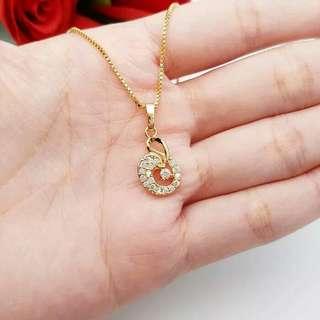 Ria necklace mirip banget mas aslinya