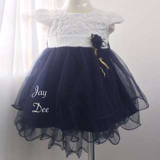 ❤️Baby Tutu Dress (Navy Fishtail)❤️