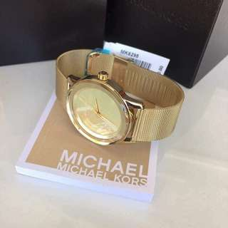 Michael Kors MK6295 Kinley Gold Tone Dial Ladies Dress Watch