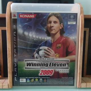 PS3 Game - Wining Eleven 2009