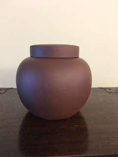 紫砂茶葉小茶罐
