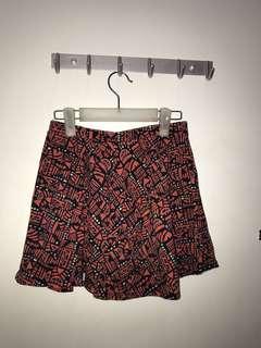 FOREVER 21 Aztec Skater Skirt