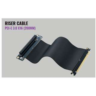 Cooler Master MASTERACCESSORY RISER CABLE PCI-E 3.0 x16 PCI E 200MM Coolermaster