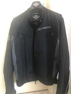 Harley Davidson perforated Motorbike Jacket