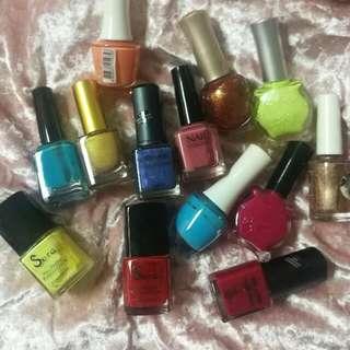 Nail Polish (3 For Rm5)