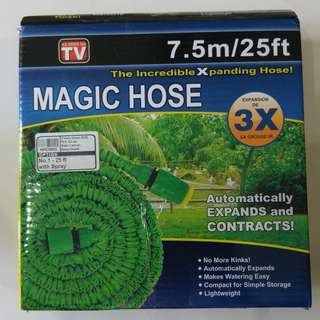 Magic Hose 7.5m/25ft (with spray) + EZ Jet Cannon