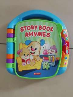 Fisher Price Rhymes Story Book