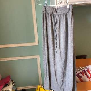 🚚 灰色棉裙