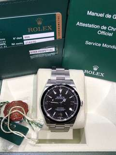 Rolex-214270-369-888行貨-亂碼-Full Set!九成以上新淨!