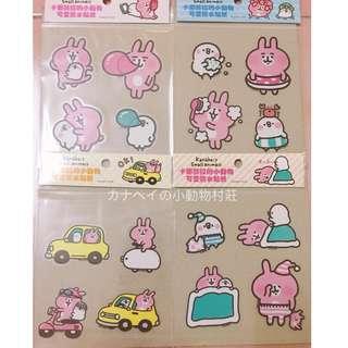 台灣直送 有現貨⭐️卡娜赫拉小動物 P助 粉紅兔兔 Kanahei's small animals 防水貼紙 Sticker