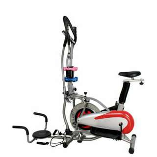Orbitrack 5in1 Alat Olahraga Fitness Pembakar Kalori Tubuh