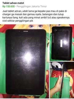 Tablet advan