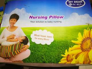 Nursing Pillow (Preloved) not used