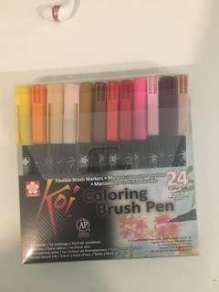Sakura Koi Coloring Brush Pen (24 COLOURS)