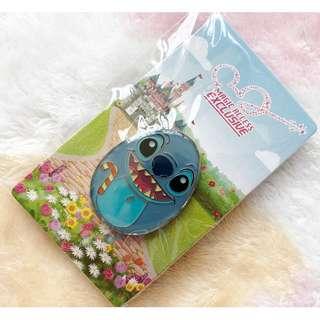 香港迪士尼 - 奇妙處處通紀念襟章 花蛋 徽章 史迪仔 Disney Magic Access Limited pin (Stitch)