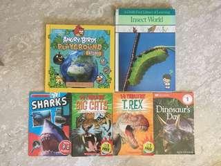 Various Science Titles (bundle of 6)