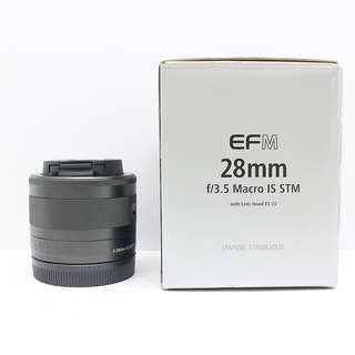 Canon EF-M 28mm f/3.5 IS STM lens for sale