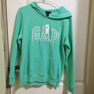 免運 gap 綠色 帽t