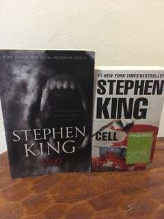 Stephen King Novels: Cujo and Cell
