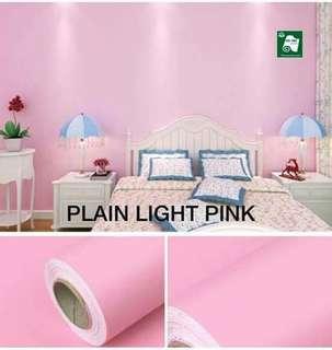 PVC WALLPAPER ( PINK MOTIF)