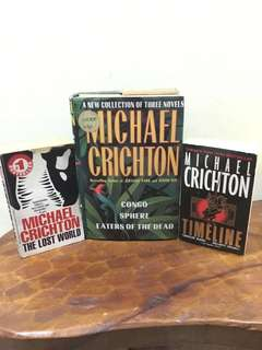 Michael Crichton Books