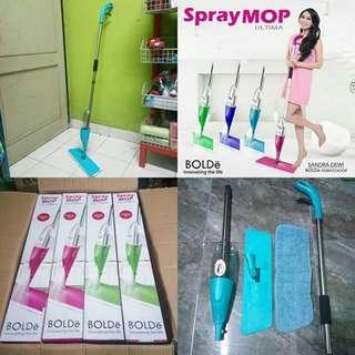Spray Mop BOLDe Pembersih Lantai Praktis Mudah Di Gunakan