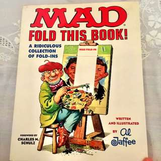 Mad Magazine Marvel Alfee Fold in Humour comic