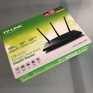 TP Link AC1200 Wireless Dual Band Gigabite Router