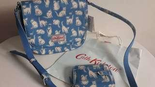 CATH KIDSTON Saddle Bag and Wallet Set