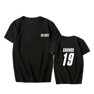 THE BOYZ WITH MEMBER'S NAME T-SHIRT