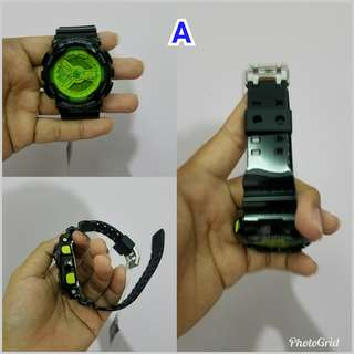 Gshock ga 110b new fullset with tag