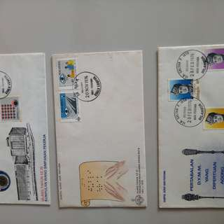 Malyaysian First day covers