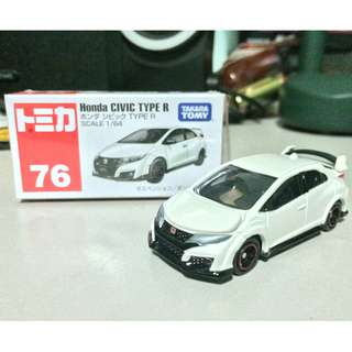 Tomica 76 Honda Civic Type R