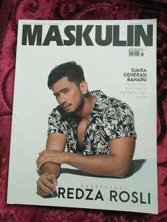 MASKULIN cover Redza Rosli