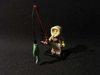 Lego miniseries 5 Eskimo figure collectible minifigure