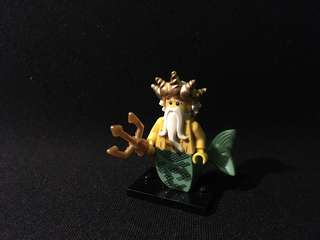 Lego miniseries 7 ocean king figure collectible minifigure