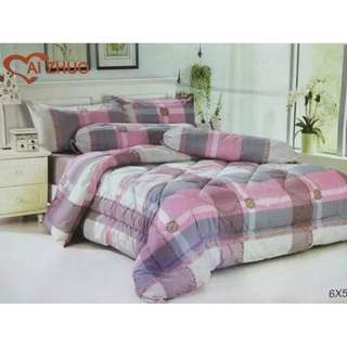 SET CADAR COMFORTER 6 IN 1