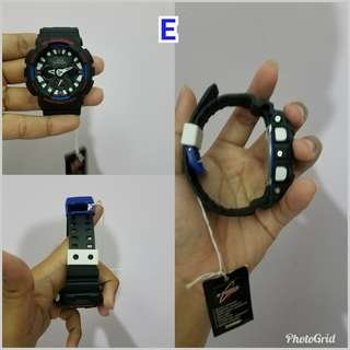 Gshock ga 120tr new fullset with tag