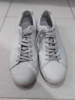 Zara icy grey sneakers