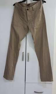 Mens Slim Cargo pants