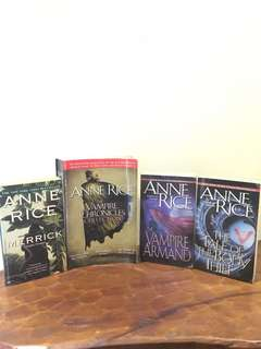 Anne Rice Vampire Collection