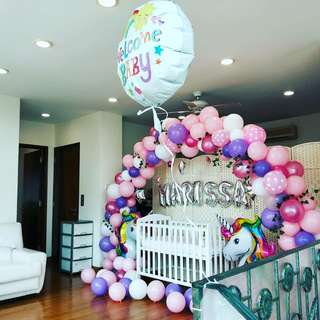 Organic balloon arc