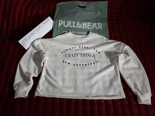 "#ForeignBrand | Pull&Bear Sweatshirt ""Crazy Things"""