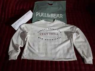 "#ForeignBrand | Pull&Bear Sweatshirt ""Crazy Things"""
