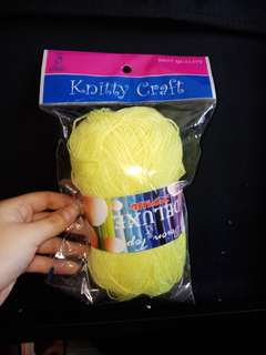 Deluxe quality yarn