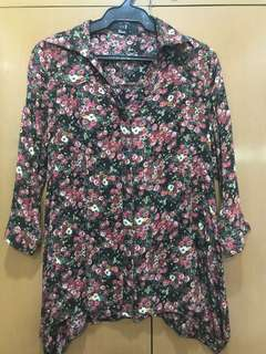 Forever21 Floral Long Sleeves