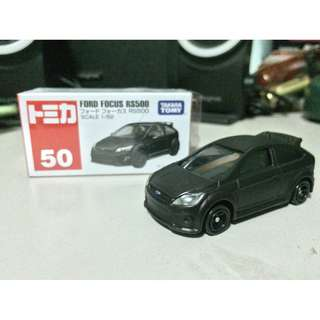 Tomica 50 Ford Focus RS500