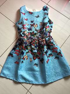 Dress Butterfly Import